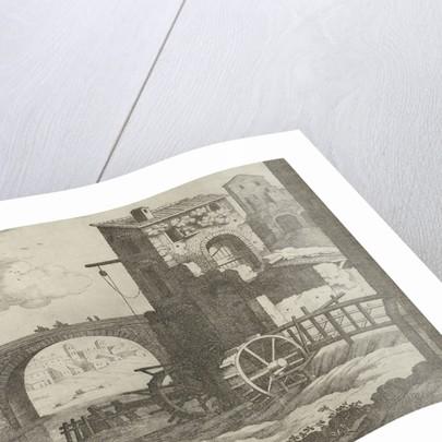 bridge and watermill by Antoine Bonenfant