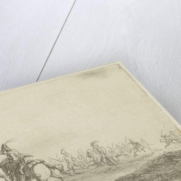 Battlefield Scene by Gerardus Emaus de Micault