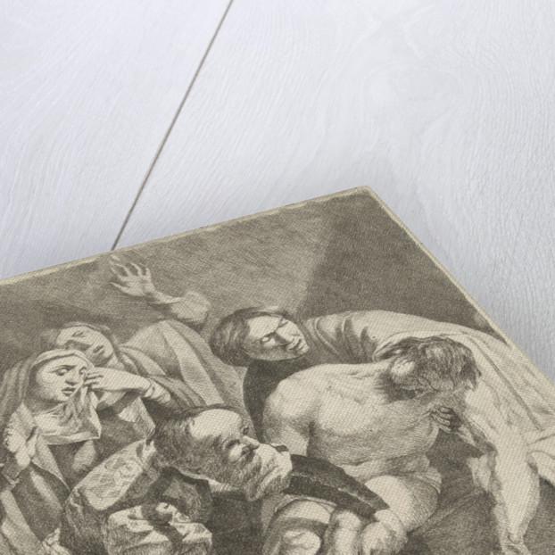 The Entombment of Christ by Dirck van Baburen