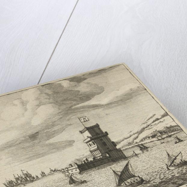 Tower of Belem in the River Tagus by Pieter van den Berge