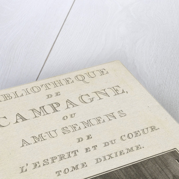 Title page for: Library Campaign. Tome dixième, Amsterdam, The Netherlands, 1764 by Marc Michel Rey