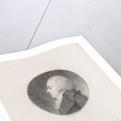 Portrait in profile of Peter Philip Juriaan Quint Ondaatje by Johannes Arnoldus Boland