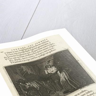 Misandere visit Euglottus at night by Daniël van den Bremden