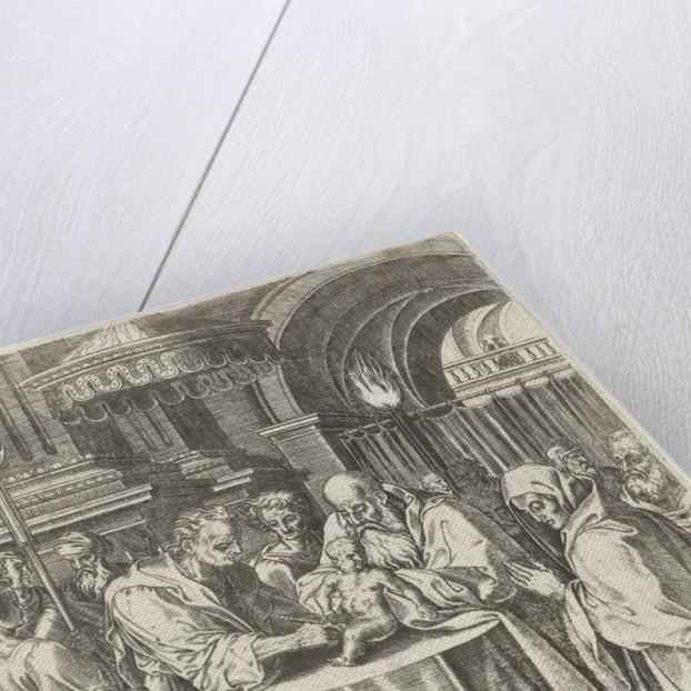 Circumcision of Christ by Abraham de Bruyn