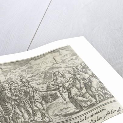 Abraham and Melchizedek by Cornelis Bos