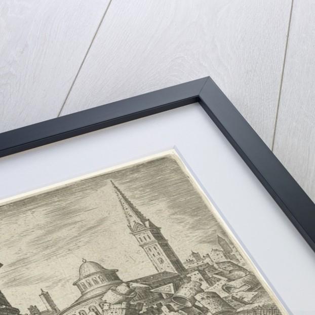 The destruction of Jericho by Maarten van Heemskerck