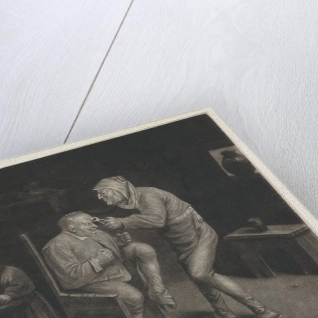 Keisnijder, doctor, The Extraction of the Stone by Jan van der Bruggen