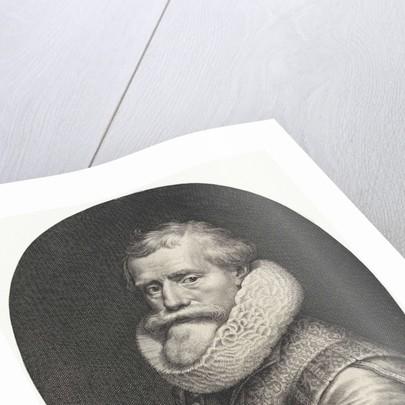 Portrait of Paul Moreelse by Paulus Moreelse