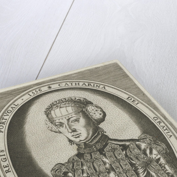 Portrait of Catherine of Habsburg by Hieronymus Cock