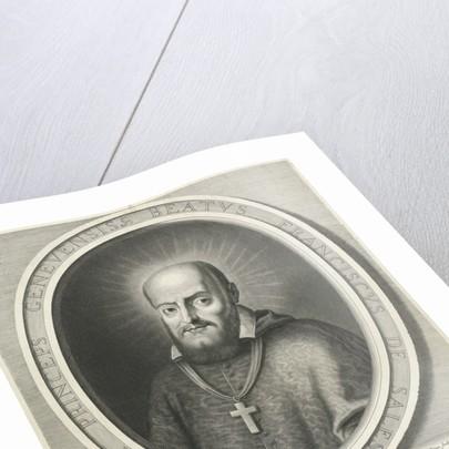 Portrait of H Francis de Sales by Nicolas Pitau I