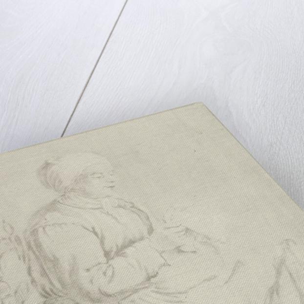 Old Woman Reading by Gabriël Metsu