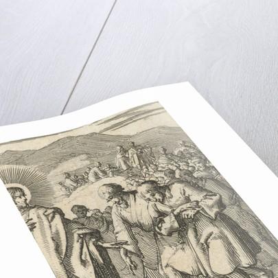 Figures following the footsteps of Christ by Jurriaen van Poolsum