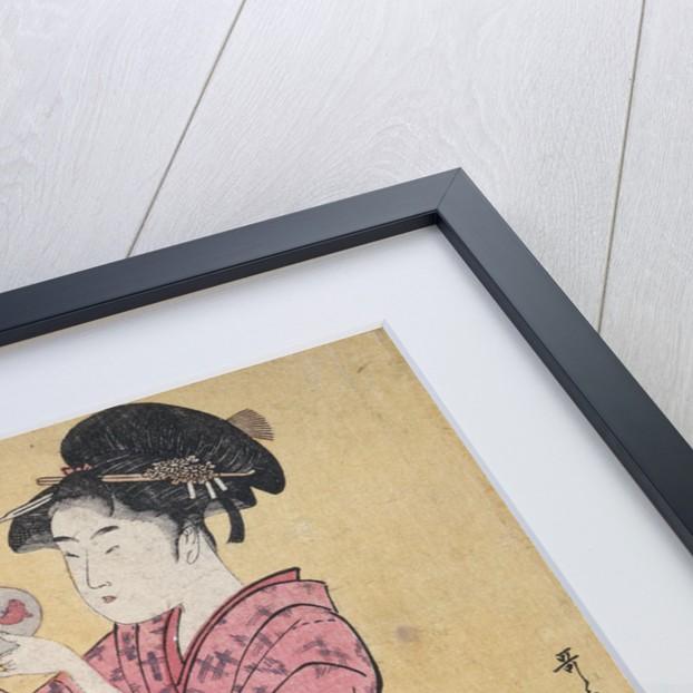 Kingyo,[Goldfish by Utamaro Kitagawa