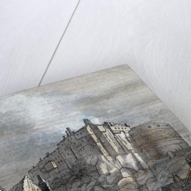 Edinburgh Castle Scotland 1833 by Anonymous