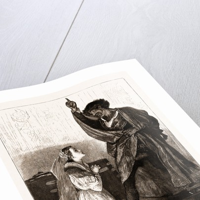 Mr. Irving And Miss Isabel Bateman In othello At The Lyceum Theatre, London by Anonymous