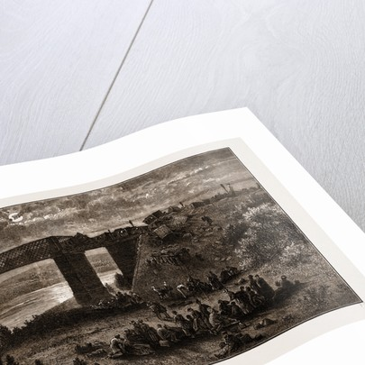 Fridge Of Viana, Over The Douro-scene Of The Late Railway Accident by Anonymous