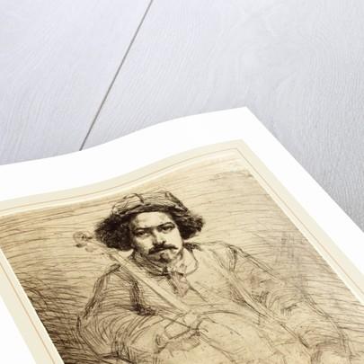 Becquet, 1859 by James McNeill Whistler