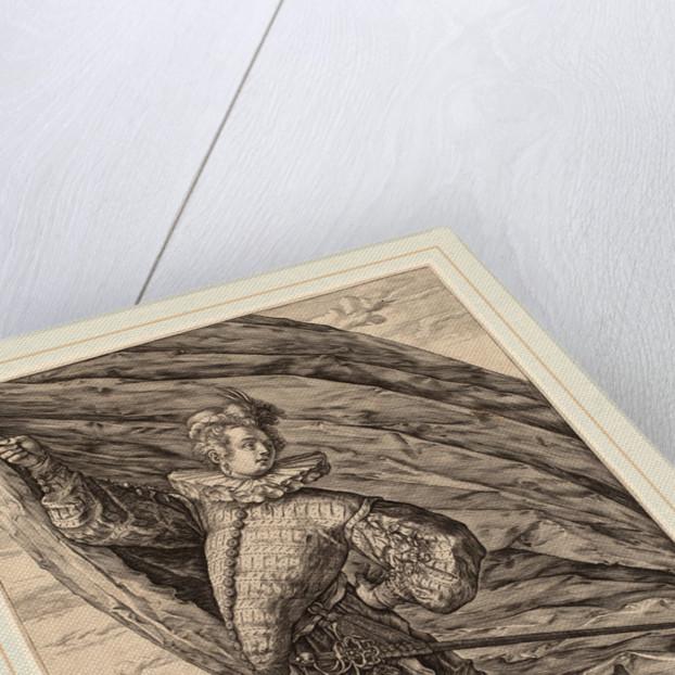 The Great Standard Bearer, 1587 by Hendrik Goltzius