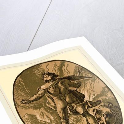 Pluto by Hendrik Goltzius