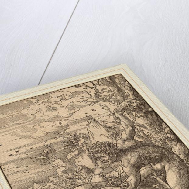 Cain Killing Abel by Jan Gossaert