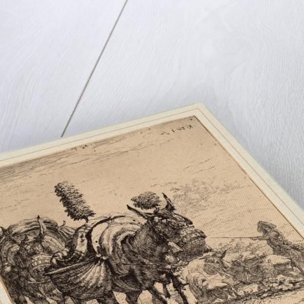 Two Mules by Karel Dujardin
