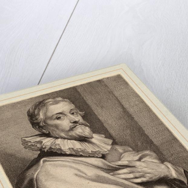 Pieter de Jode the Elder by Lucas Emil Vorsterman