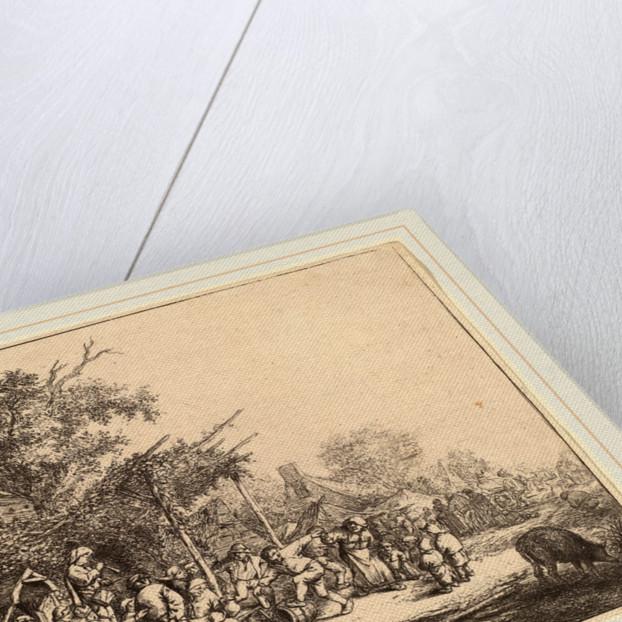 Dance under the Trellis, probably 1652 by Adriaen van Ostade