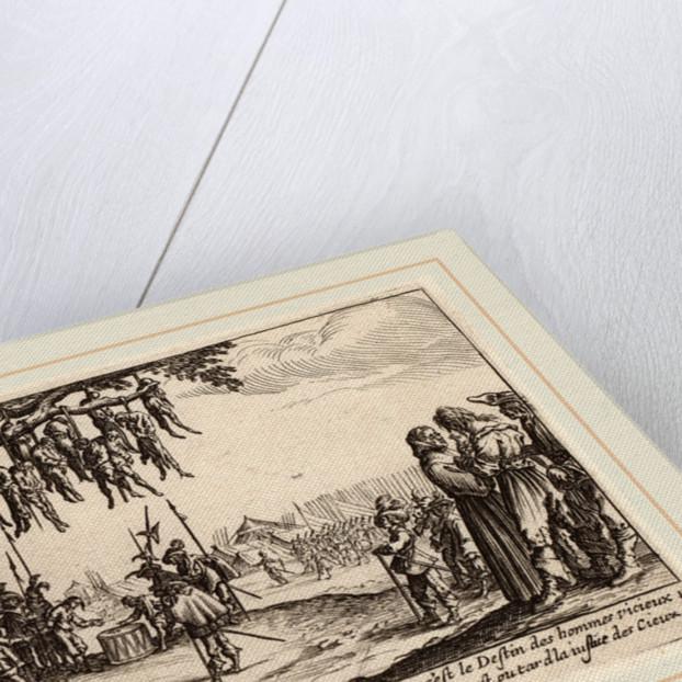 The Hanging by Gerrit van Schagen