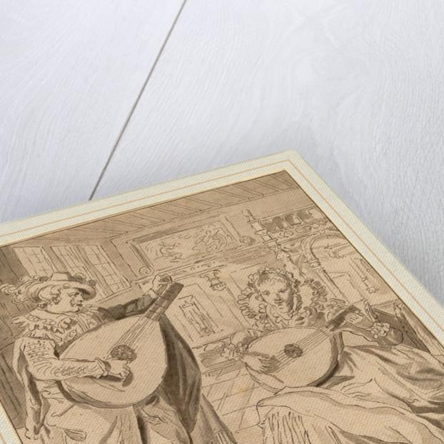 Musical Company, 1772 by Cornelis Ploos van Amstel and Bernhard Schreuder