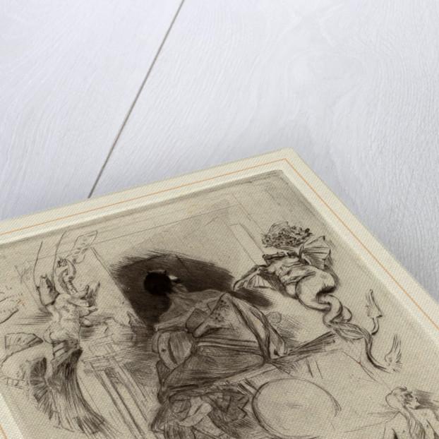 La Dernière Maja, 1880 by Félicien Rops