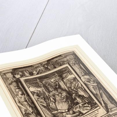 Emperor, 1651 by Wenceslaus Hollar