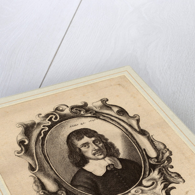 Self-Portrait, 1647 by Wenceslaus Hollar