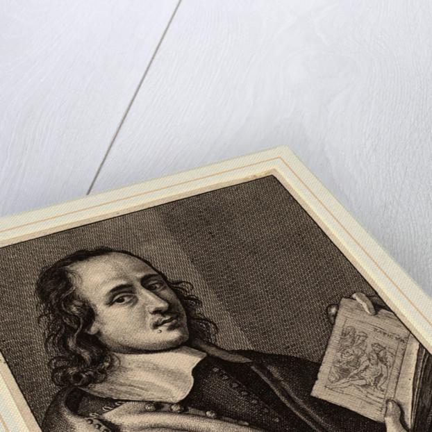 Henry van der Borcht, Painter, 1648 by Wenceslaus Hollar