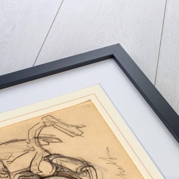 Self-Portrait: Caricatures by Elihu Vedder