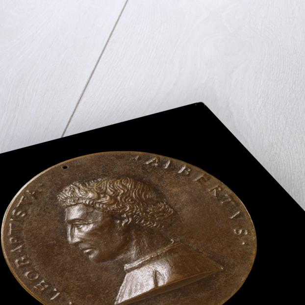 Leone Battista Alberti, Architect and Writer on Art and Science obverse by Matteo de' Pasti