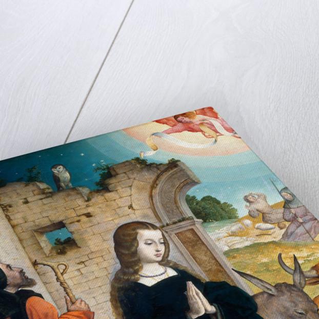 The Nativity, Hispano-Flemish by Juan de Flandes