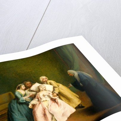 The Faint by Pietro Longhi
