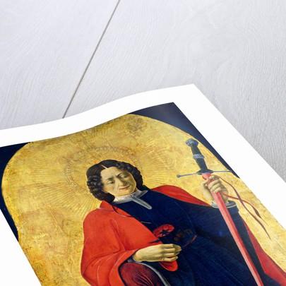 Saint Florian by Francesco del Cossa