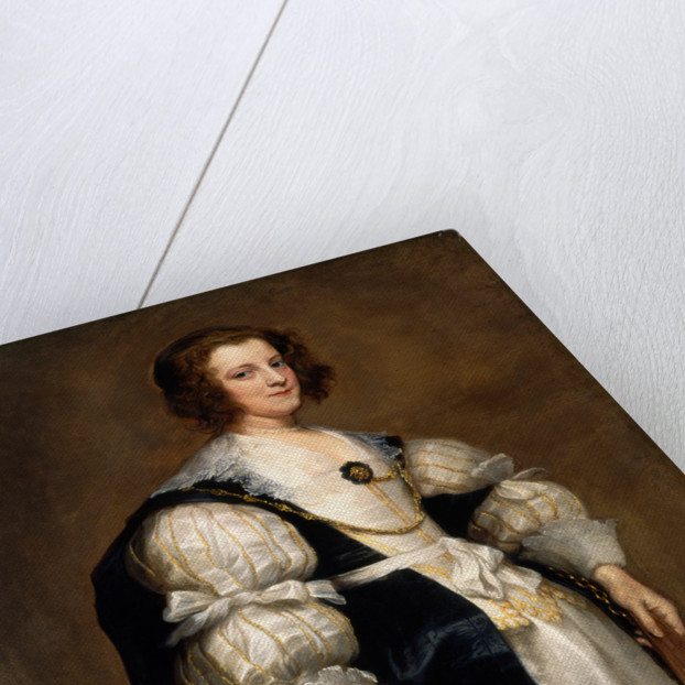 Lady with a Fan, c. 1628 by Sir Anthony van Dyck