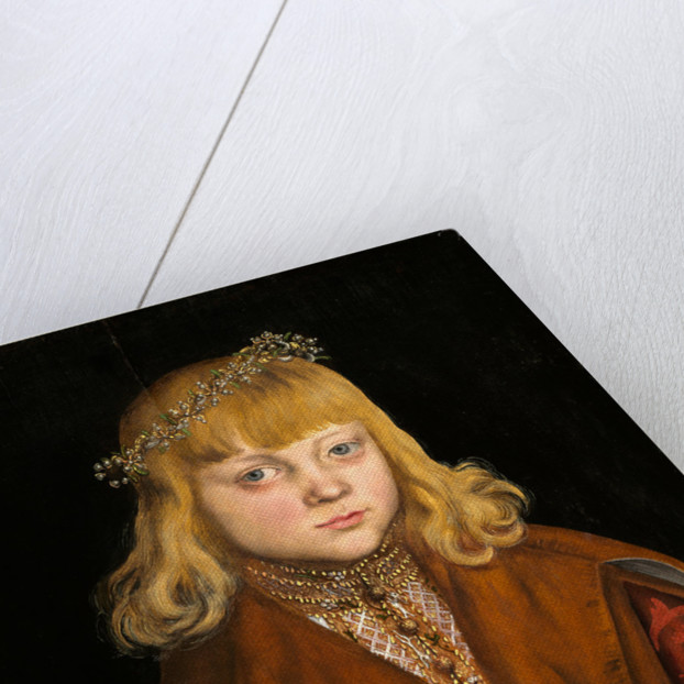 German, A Prince of Saxony, c. 1517 by Lucas Cranach the Elder
