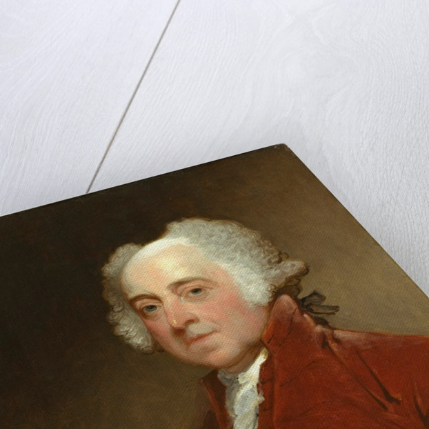 American, John Adams, c. 1821 by Gilbert Stuart
