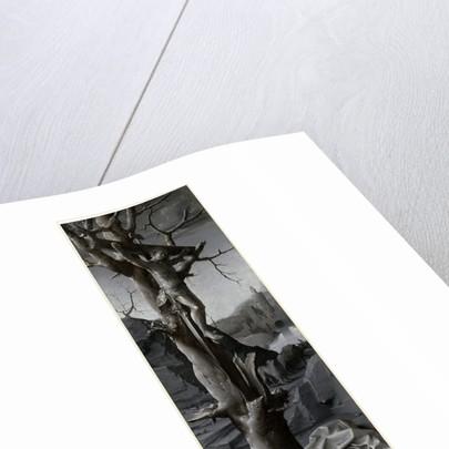 Saint Jerome Penitent left panel by Jan Gossaert