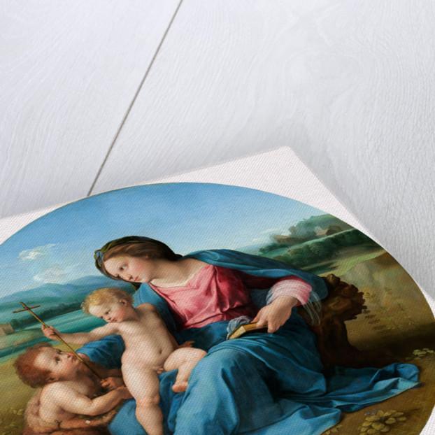 Italian, The Alba Madonna, c. 1510 by Raphael