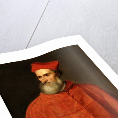 Cardinal Pietro Bembo by Titian