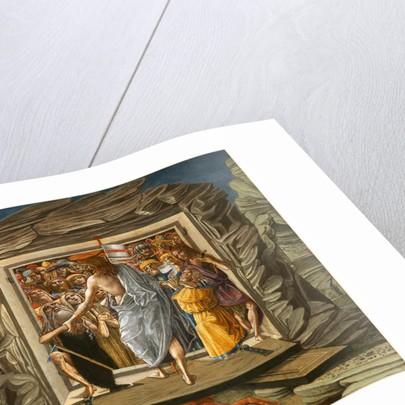 Christ in Limbo by Benvenuto di Giovanni