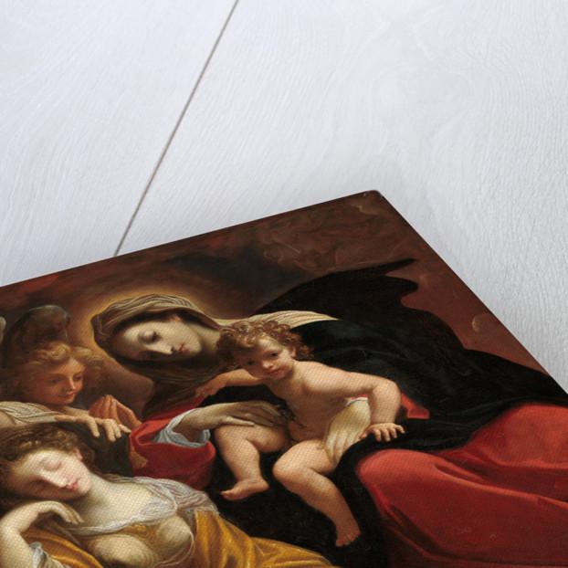 The Dream of Saint Catherine of Alexandria by Lodovico Carracci
