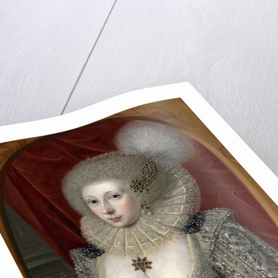 Portrait of a Woman, Possibly Frances Cotton by The Elder