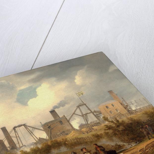 A View of Murton Colliery near Seaham, County Durham by John Wilson Carmichael