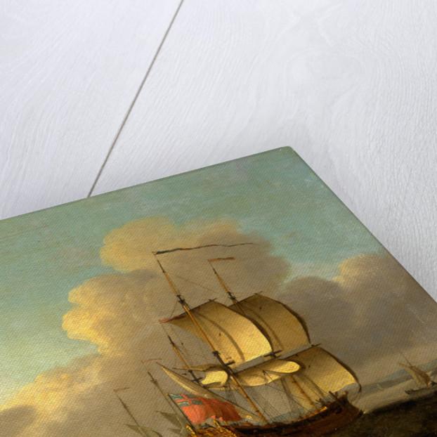 Shipping in the Thames Estuary, Thomas Mellish, ca.1748-1782 by Thomas Mellish