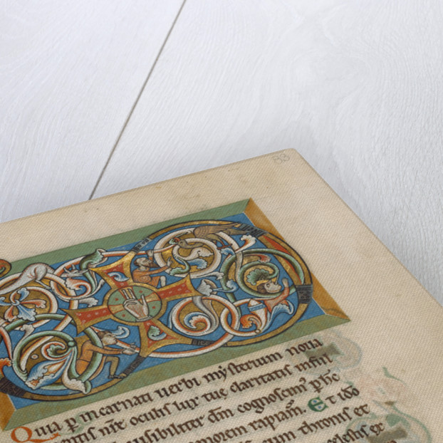 Inhabited VD Monogram by Anonymous